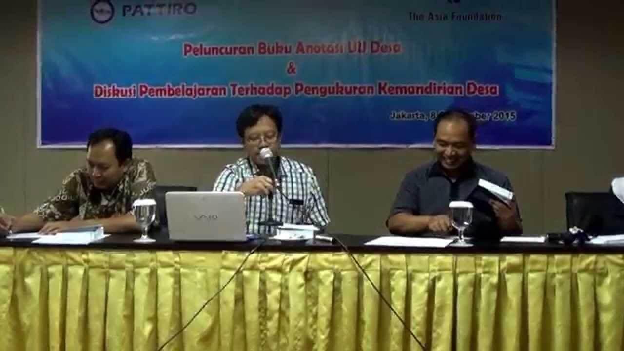 Diskusi-Panel-Terkait-Undang-Undang-Desa-dan-Isu-Isu-Krusial-di-Dalamnya