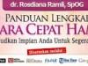 Buku Panduan Lengkap Cara Cepat Hamil dr Rosdiana Ramli,SpOg