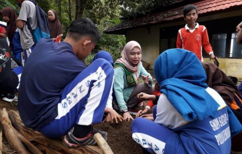 Duta Pertanian Kalbar hadirkan kelas bangga bertani di Lemukutan