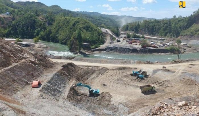 Dukung Produksi Pertanian Berkelanjutan, Kementerian PUPR Targetkan Bendungan Way Apu di Kabupaten Buru Provinsi Maluku Selesai Agustus 2023